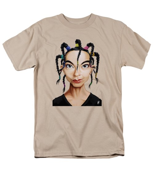 Celebrity Sunday - Bjork Men's T-Shirt  (Regular Fit) by Rob Snow