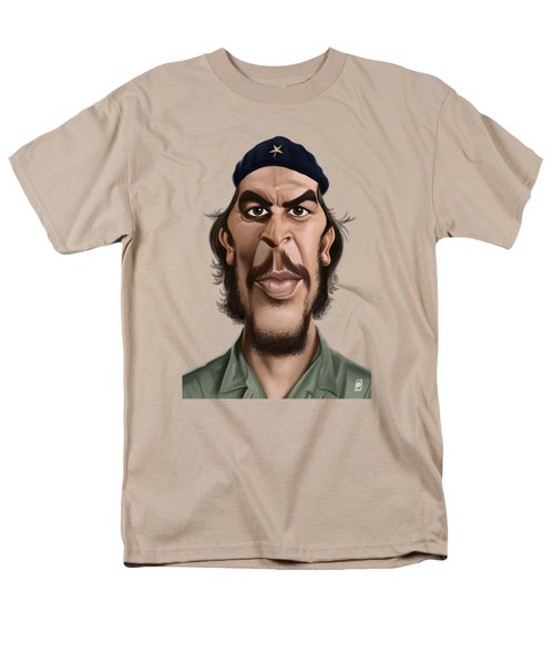 Celebrity Sunday - Che Guevara Men's T-Shirt  (Regular Fit) by Rob Snow