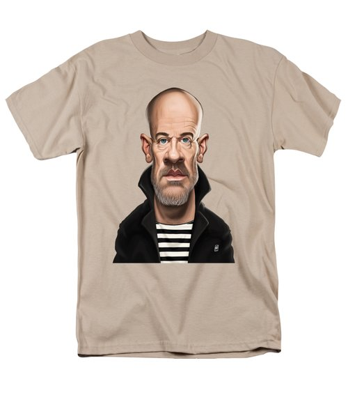 Celebrity Sunday - Michael Stipe Men's T-Shirt  (Regular Fit) by Rob Snow