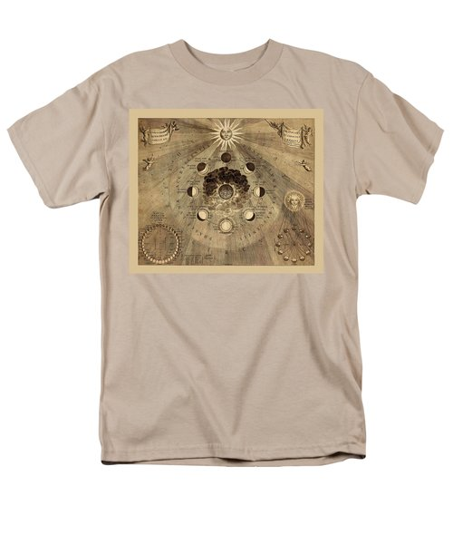 Celestial Map 1710b Men's T-Shirt  (Regular Fit) by Andrew Fare