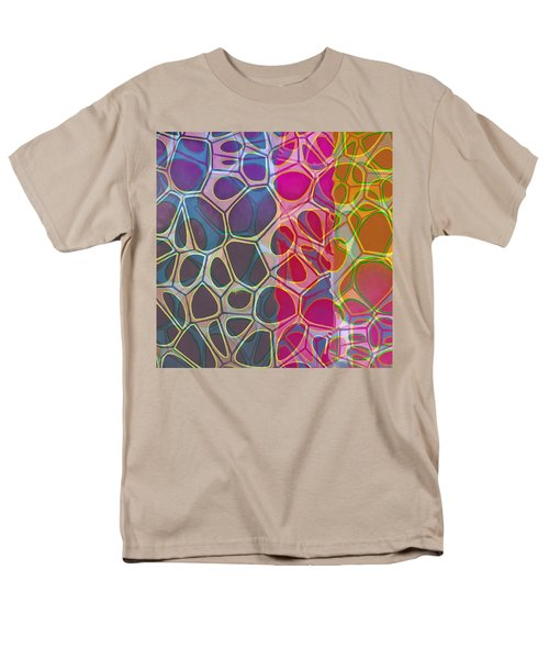 Cell Abstract 11 Men's T-Shirt  (Regular Fit) by Edward Fielding