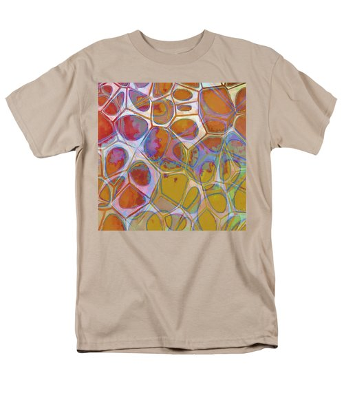 Cell Abstract 14 Men's T-Shirt  (Regular Fit) by Edward Fielding