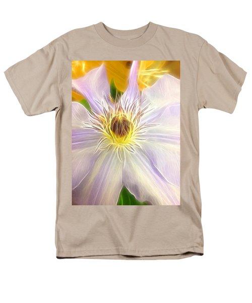 Center Lit Men's T-Shirt  (Regular Fit)