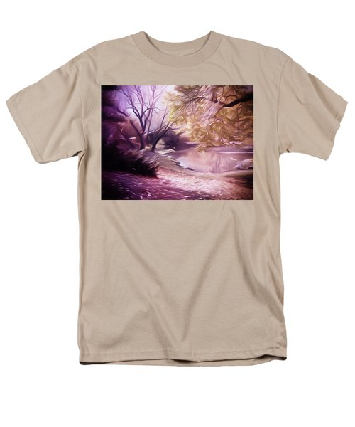Central Park Men's T-Shirt  (Regular Fit) by Carol Crisafi