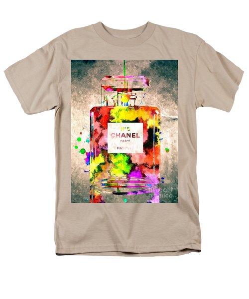 Chanel No 5 Grunge Men's T-Shirt  (Regular Fit) by Daniel Janda