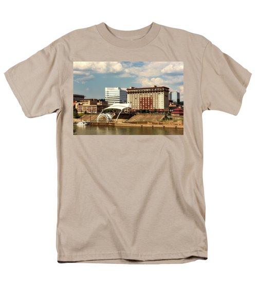 Charleston West Virginia Men's T-Shirt  (Regular Fit) by L O C