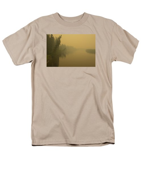 Men's T-Shirt  (Regular Fit) featuring the photograph Chena River by Gary Lengyel