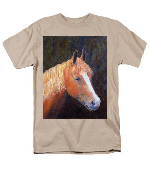 Chestnut Men's T-Shirt  (Regular Fit) by Elizabeth Lock