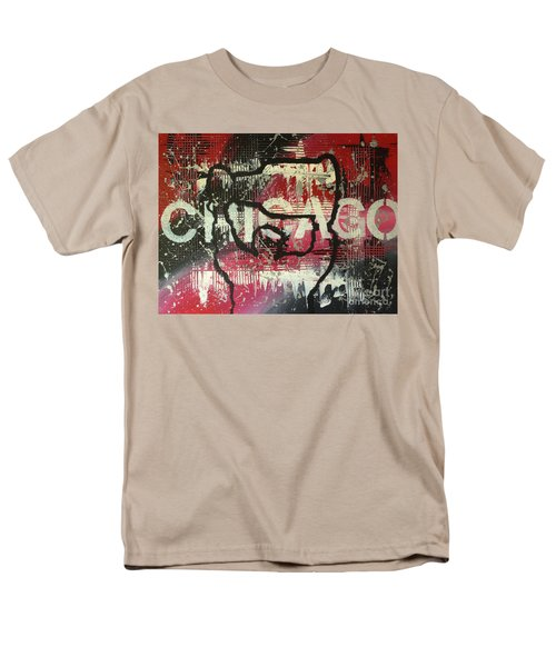 Men's T-Shirt  (Regular Fit) featuring the painting Chicago's Cup by Melissa Goodrich