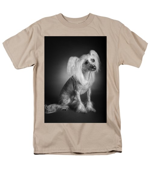 Men's T-Shirt  (Regular Fit) featuring the photograph Chinese Crested - 03 by Larry Carr