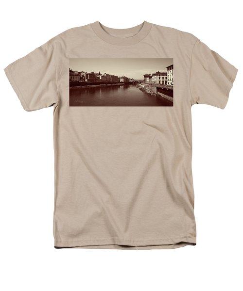 Chocolate Florence Men's T-Shirt  (Regular Fit) by Joseph Westrupp