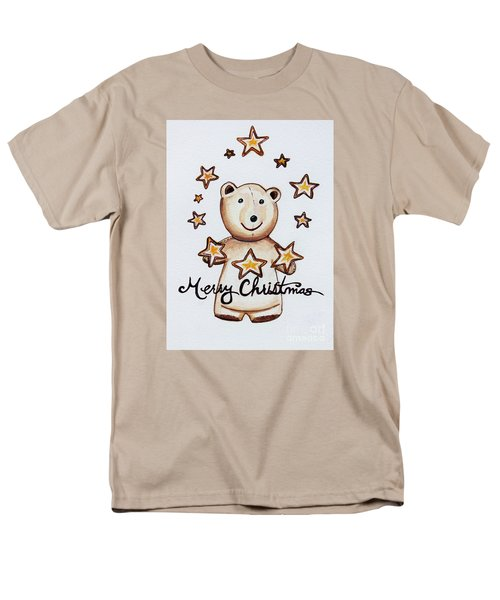 Christmas Stars Men's T-Shirt  (Regular Fit) by Elizabeth Robinette Tyndall