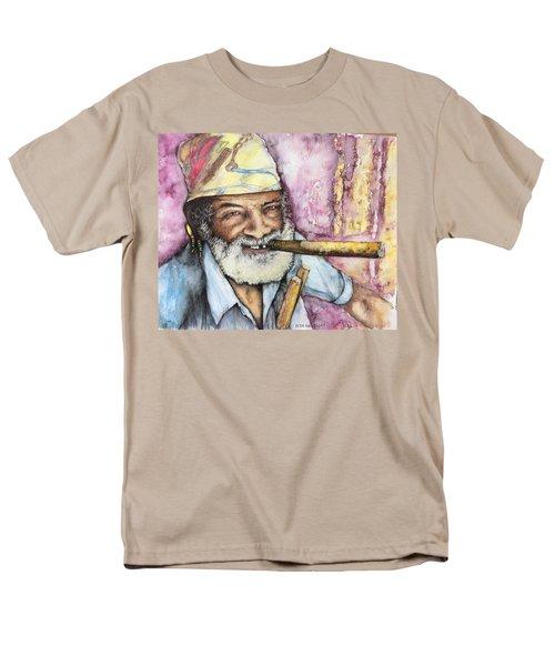 Cigars And Cuba Men's T-Shirt  (Regular Fit) by Victor Minca