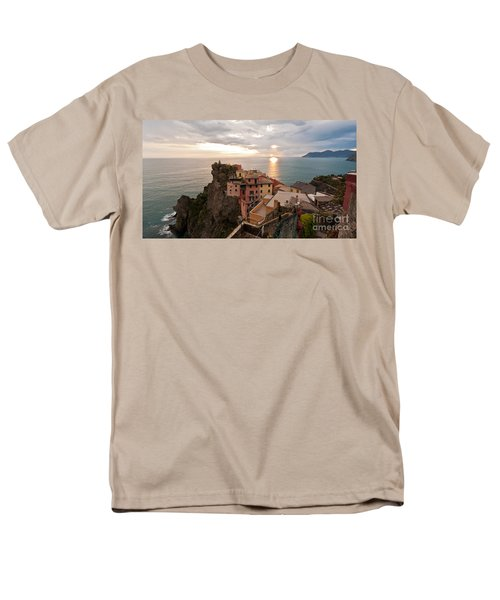 Cinque Terre Tranquility Men's T-Shirt  (Regular Fit) by Mike Reid