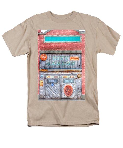 City Garage Men's T-Shirt  (Regular Fit) by Toma Caul