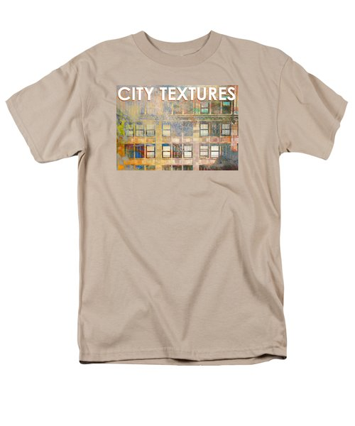 City Textures Windows Men's T-Shirt  (Regular Fit) by John Fish