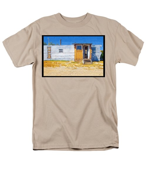 Men's T-Shirt  (Regular Fit) featuring the photograph Classic Trailer by Susan Kinney