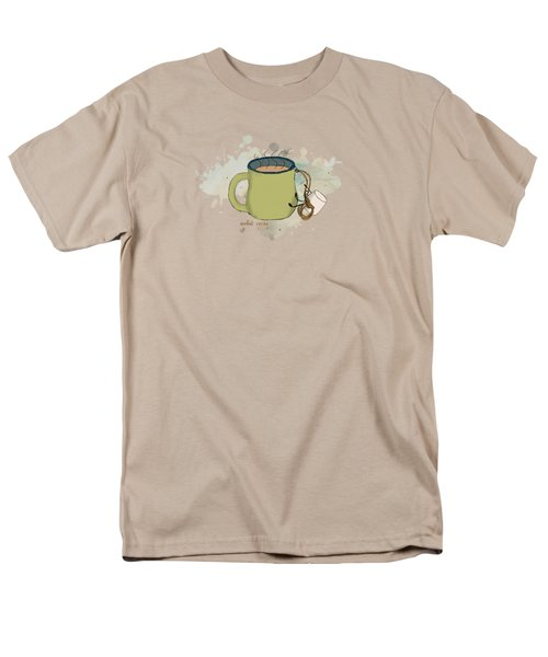 Climbing Mt Cocoa Illustrated Men's T-Shirt  (Regular Fit) by Heather Applegate