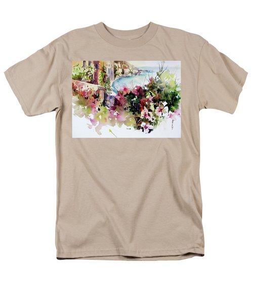Coastal Vista Men's T-Shirt  (Regular Fit) by Rae Andrews