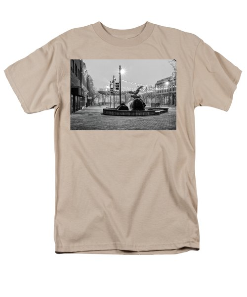 Cold And Foggy Morning Men's T-Shirt  (Regular Fit) by Monte Stevens