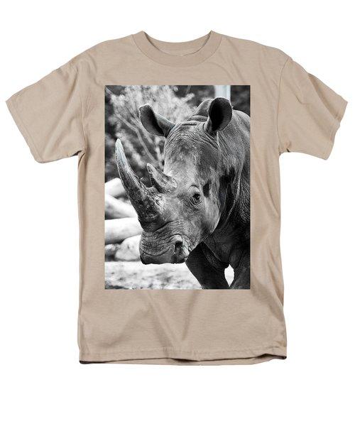 Men's T-Shirt  (Regular Fit) featuring the photograph Color Me Rhino by John Haldane