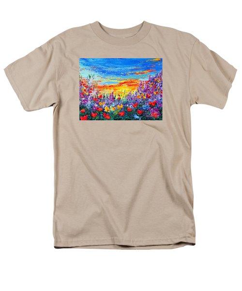 Color My World Men's T-Shirt  (Regular Fit)