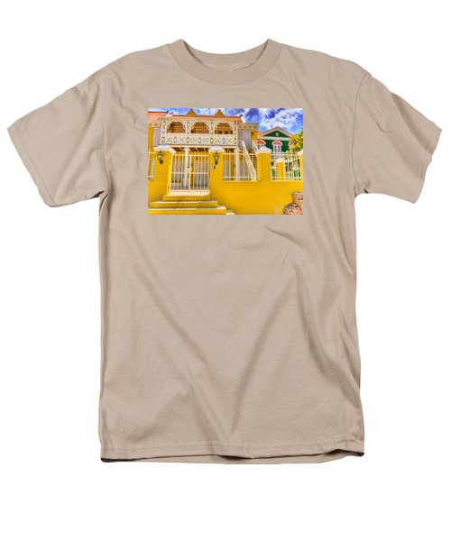 Colors Of Paradise Men's T-Shirt  (Regular Fit) by Nadia Sanowar