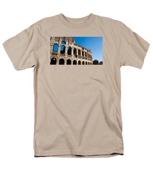 Colosseum - Old And New Men's T-Shirt  (Regular Fit) by Ed Cilley