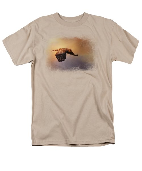 Coming In For The Evening Men's T-Shirt  (Regular Fit)