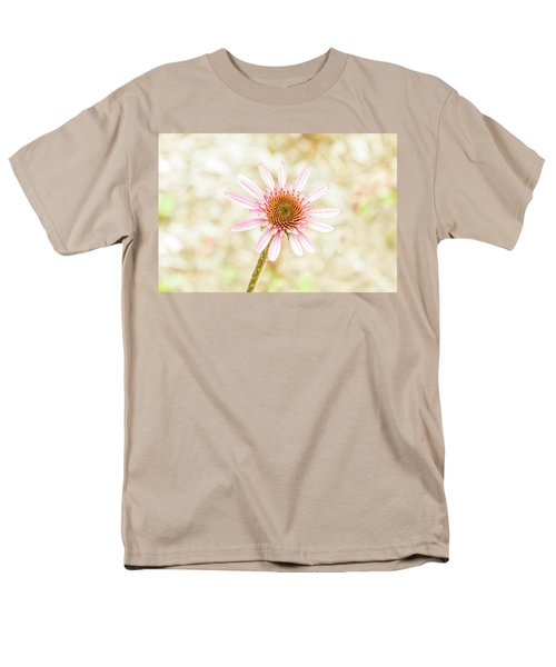 Cone Flower Men's T-Shirt  (Regular Fit) by Jay Stockhaus