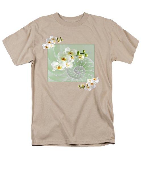 Cool Green Fusion Men's T-Shirt  (Regular Fit) by Gill Billington