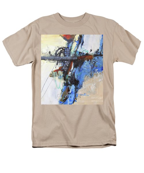 Coolly Collected Men's T-Shirt  (Regular Fit) by Ron Stephens