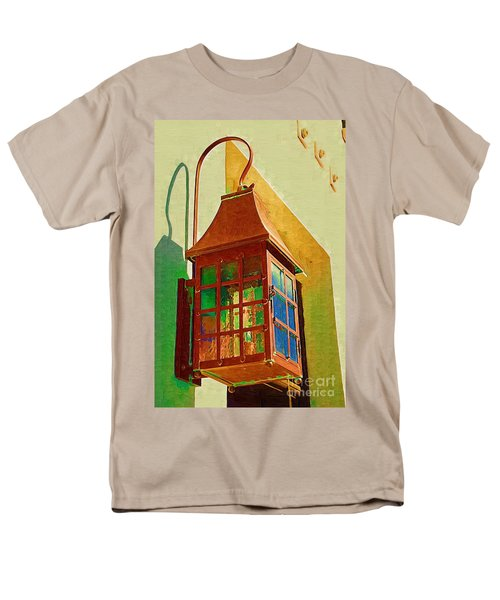 Copper Lantern Men's T-Shirt  (Regular Fit) by Donna Bentley