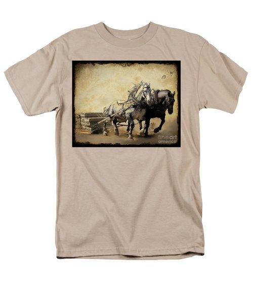 Core-two-duo Men's T-Shirt  (Regular Fit) by Davandra Cribbie