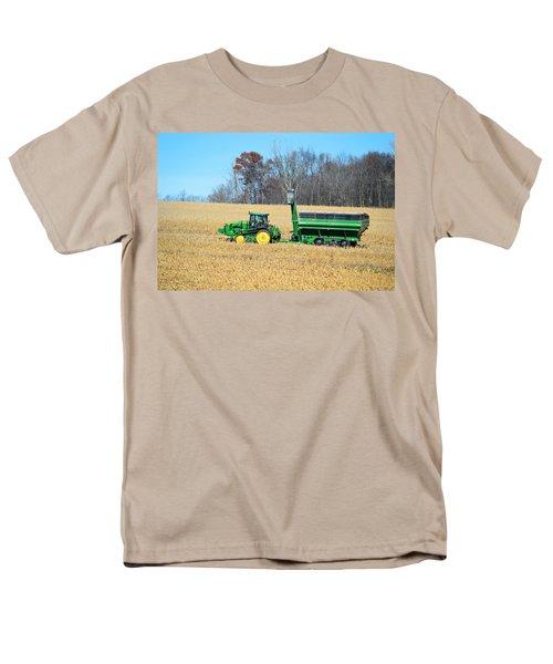 Corn Harvest Men's T-Shirt  (Regular Fit) by Bonfire Photography