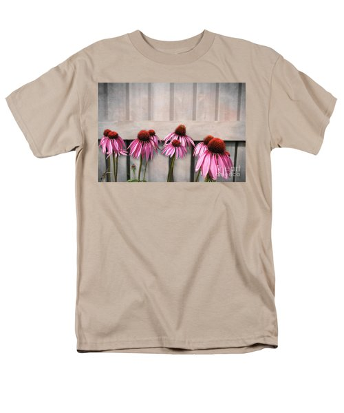 Coneflower Couples Men's T-Shirt  (Regular Fit) by Nina Silver