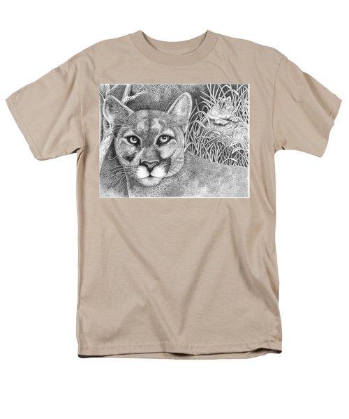 Cougar Men's T-Shirt  (Regular Fit) by Lawrence Tripoli