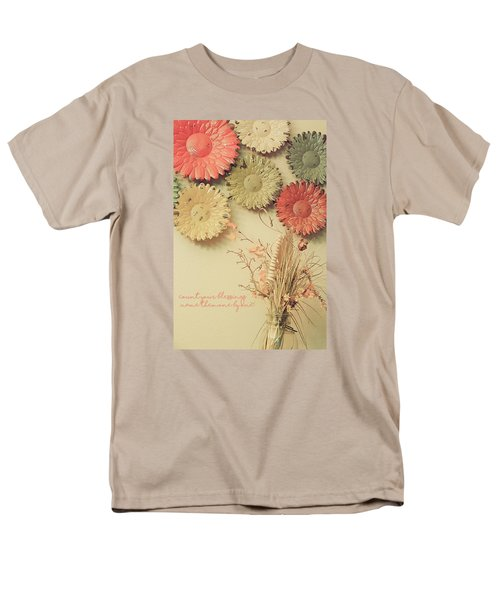 Count Your Blessings Men's T-Shirt  (Regular Fit)