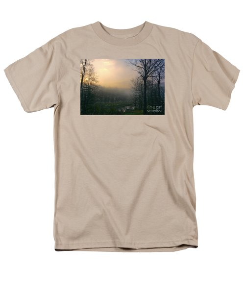 Men's T-Shirt  (Regular Fit) featuring the photograph Country Sketch by Mim White