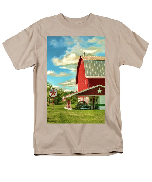 County G Classic Station Men's T-Shirt  (Regular Fit) by Trey Foerster