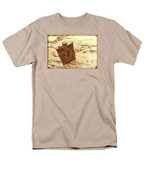 Cowboy Energy Drink Men's T-Shirt  (Regular Fit) by American West Legend By Olivier Le Queinec