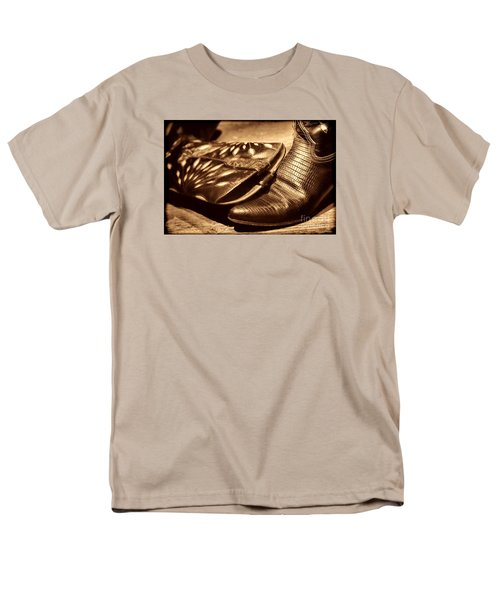 Cowgirl Gator Boots Men's T-Shirt  (Regular Fit) by American West Legend By Olivier Le Queinec