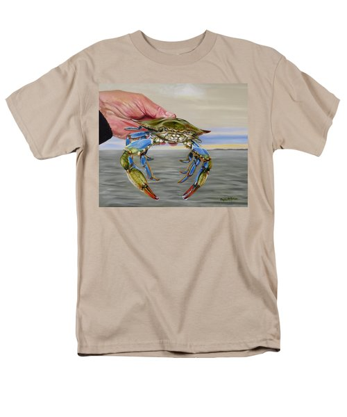 Crab Fingers Men's T-Shirt  (Regular Fit) by Phyllis Beiser