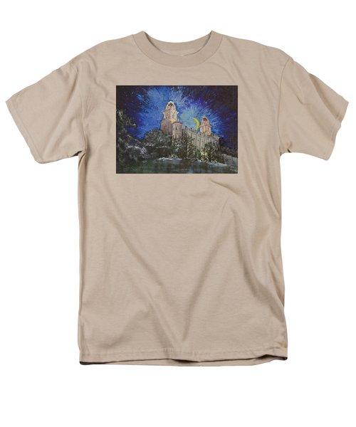 Crescent Moon Men's T-Shirt  (Regular Fit) by Jane Autry