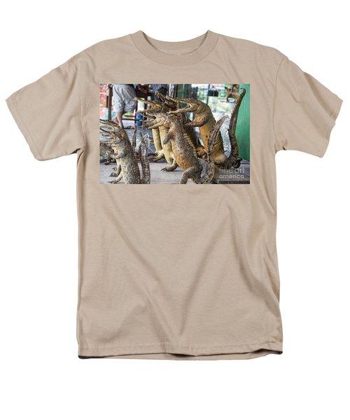 Crocodiles Rock  Men's T-Shirt  (Regular Fit) by Chuck Kuhn