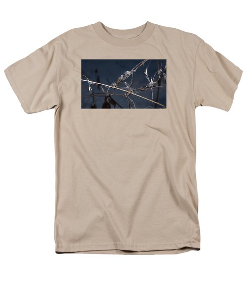 Men's T-Shirt  (Regular Fit) featuring the photograph Crystals by Annette Berglund