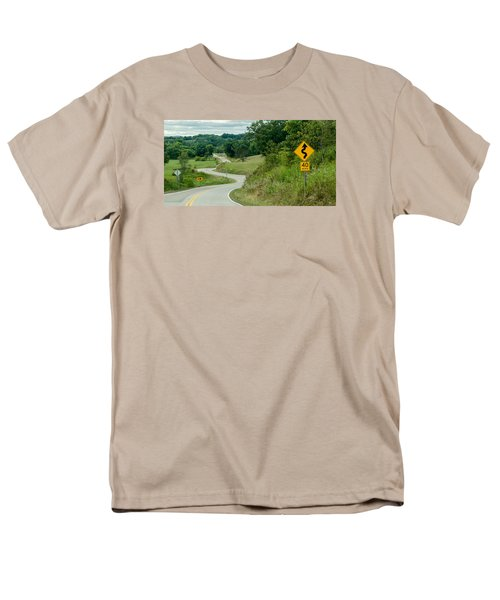 Men's T-Shirt  (Regular Fit) featuring the photograph Curves by Dan Traun