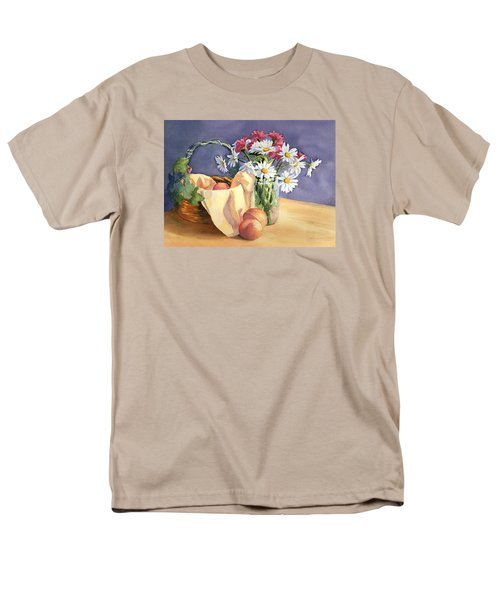 Daisies And Peaches Men's T-Shirt  (Regular Fit) by Vikki Bouffard