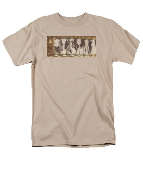Dance Of The Eucalyptus Leaves Men's T-Shirt  (Regular Fit) by Carolyn Doe