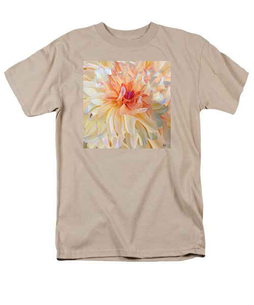 Dancing Dahlia Men's T-Shirt  (Regular Fit) by Michele Avanti